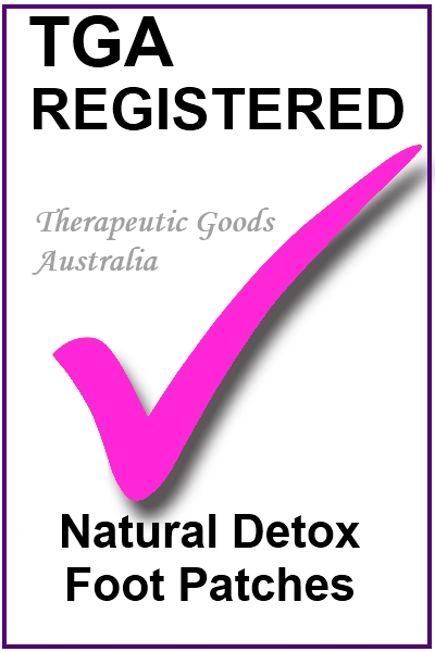 Natural Detox Foot Patches TGA Registration image