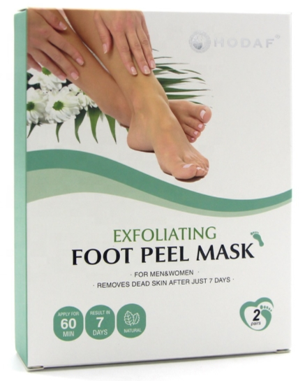foot mask green box image