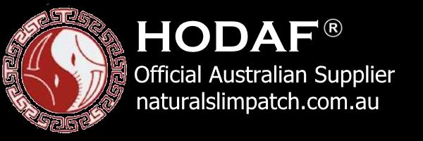 hodaf.com.au natural slim patch logo image