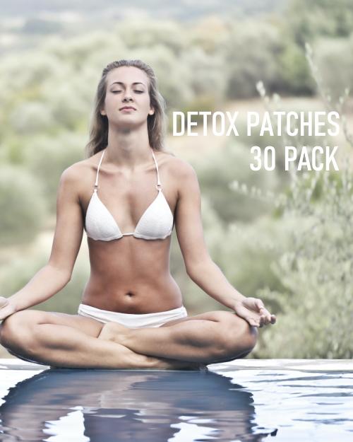 detox foot pads 30 pack image