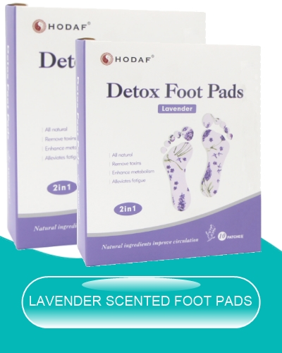 lavender scented foot pads image
