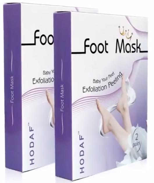 exfoliating foot peel mask pack image