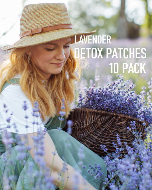 Lavender Detox Foot Patches 10 pack image