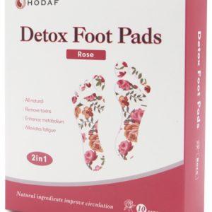 Rose scented Detox foot pads pack image