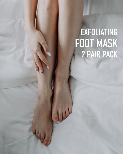 Exfoliating Foot Mask 2 pair pack image