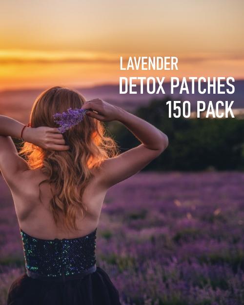 Lavender Detox Foot Patches 150 pack image