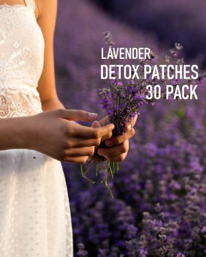 Lavender Detox Foot Patches 30 pack image