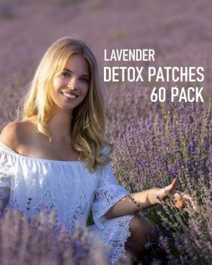 Lavender Detox Foot Patches 60 pack image