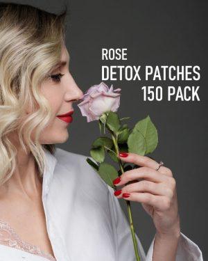 Rose Detox Foot Pads 150 pack image