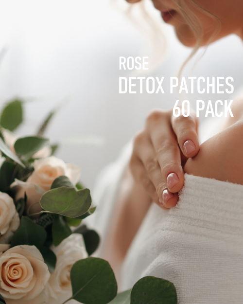 Rose Detox Foot Pads 60 pack image