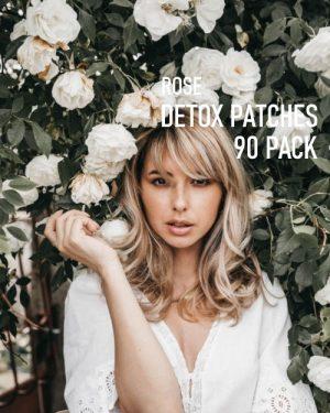 Rose Detox Foot Pads 90 pack image