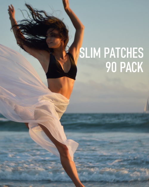 natural slim patch 90 pack girl image