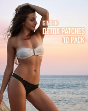 ginger detox foot pads 10 pack image