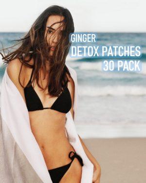 ginger detox foot pads 30 pack image
