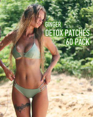 ginger detox foot pads 60 pack image