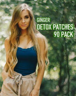 ginger detox foot pads 90 pack image